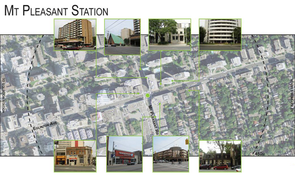 Mount Pleasant Station: Local Context - Land Use