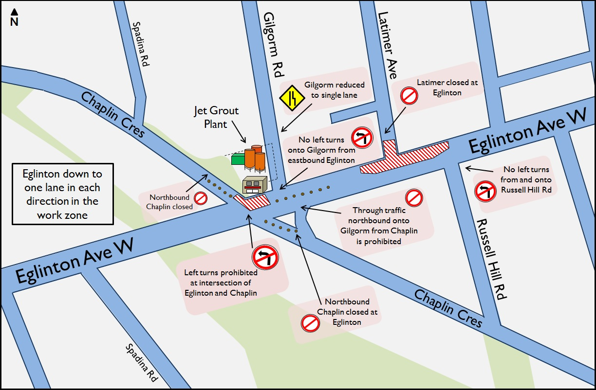 Chaplin traffic restrictions June 2014