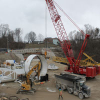 Assembly of Tunnel Boring Machines
